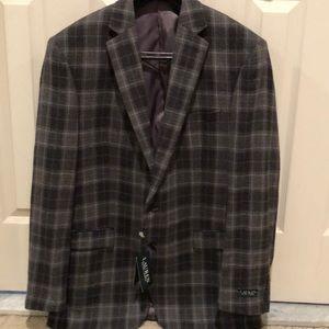 Lauren Ralph Lauren men's 100% wool blazer, 48L